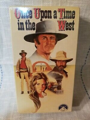 Once Upon A Time In The West 1997 VHS, Henry Fonda, 2 VHS Tapes Sealed