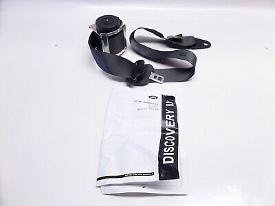 New Genuine Land Rover Discovery 2 Front Left Seat Belt Ash Grey EVB000700LNF