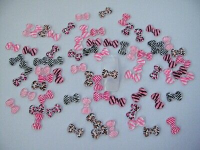 Nail Art 3d 70 Mix Print Bow for Nails, Cellphones R9M2
