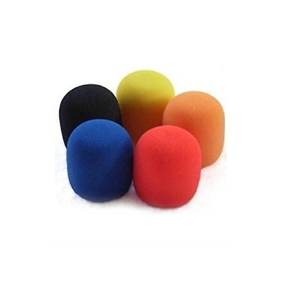 Weymic 5pc 5 Color Microphone Windscreen Sponge Foam Cover Shield Protection