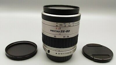 * Exc+++++ * PENTAX SMC Pentax-FA 28-80mm F3.5-5.6 AF Zoom Lens *Tested Working*