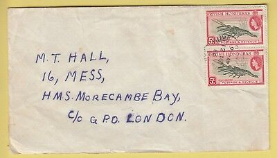 A 1264 British Honduras March 1956 cover to the UK