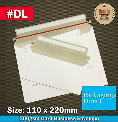Card Mailer #DL  220x110mm 300GSM Envelope - DL Size Tough Bag Replacement
