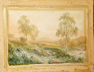 19th century Watercolor by George Alexander (1832-1913),