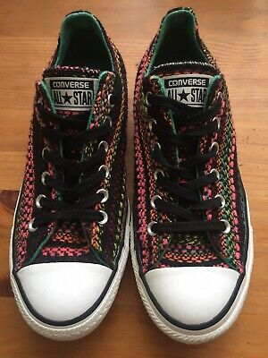 CONVERSE CT All Star Unisex Canvas Colourful Low-Top Casual Sneaker Shoes 8/38