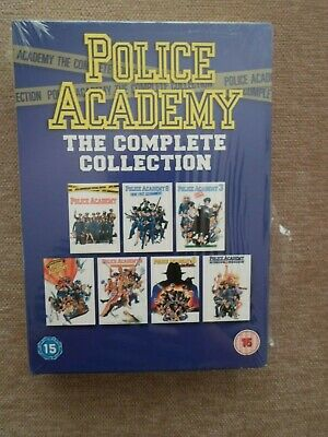 Police Academy 1-7 - The Complete Collection (DVD, 2009, Box Set) new and sealed