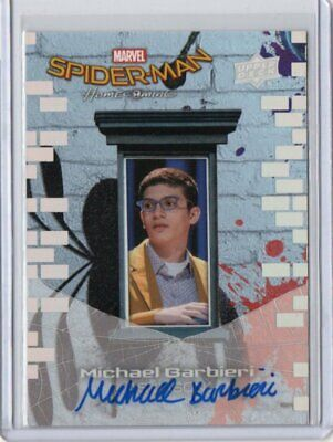Michael Garbieri 2017 Upper Deck Marvel Spider-Man Homecoming Auto#Ss12