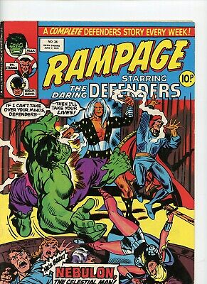 Rampage comic No 34 week ending june 7th 1978