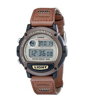 Casio W-89HB-5AV Illuminator Sport Digital Mens Watch 50M WR Original New W-89
