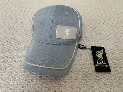 BRAND NEW Men's Official LFC/Liverpool FC Chambray Patch Cap
