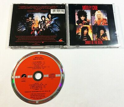 Motley Crue / Shout At The Devil Cd W.germany Elektra 9 60289-2 Target Very Rare
