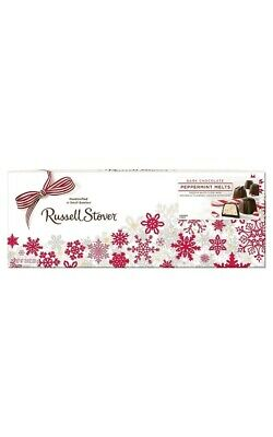 Russell Stover Dark Chocolate Peppermint Melts 10.6 Oz