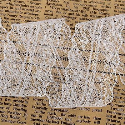 Wholesale 10 Yard Beautiful Handicrafts Embroidered Net Lace Trim Ribbon LaceUS