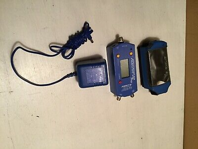 Acutrac 22 Pro Perfect 10 Satellite Signal Meter W/Case & Power cord~