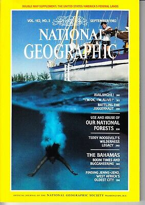 NATIONAL GEOGRAPHIC (English) au choix (5 numéros disponibles (voir photos)