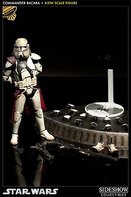 "Sideshow Star Wars EXCLUSIVE COMMANDER BACARA Clone Trooper 12"" 1:6 scale #21851"