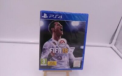 Fifa 18 PlayStation 4 PS4 SEALED!!