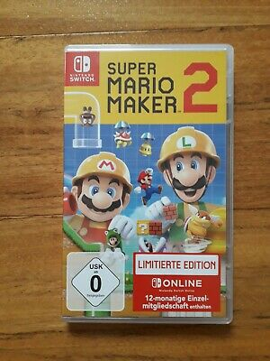 Super Mario Maker 2 -- Limited Edition + 365 Tage online Zugang(Nintendo Switch)