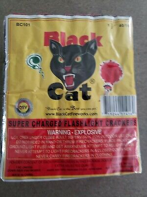 FIREWORKS labels collectible BLACK CAT BRICK Firecrackers