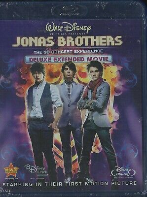 Jonas Brothers:The 3D Concert Experience(New Blu- Ray)Deluxe Extended Movie