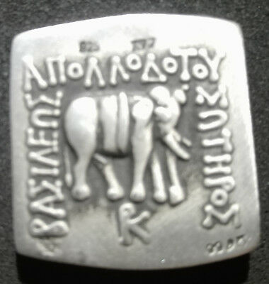 Collective Ancient Indo-Greek Square Drachm - Apollodotus I Soter