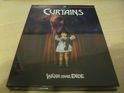 Curtains / Slasher Classic (1983) Mediabook UNCUT Limited 287/500 Blu Ray + DVD