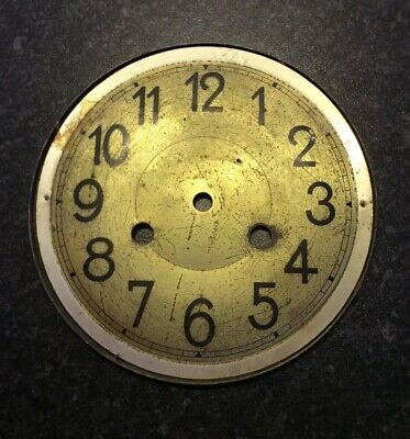 Antique Vintage clock face/dial