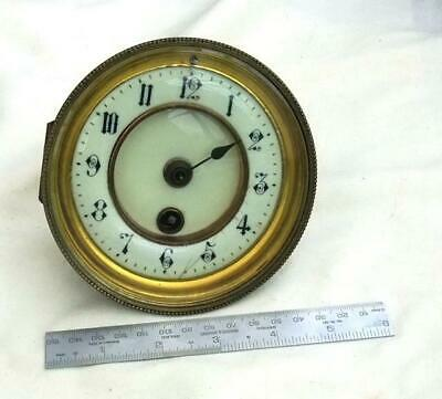 Vintage French Clock Movement For Parts/Repair