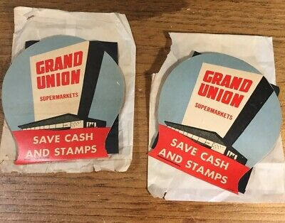 Vintage Giant Foods Supermarkets G Logo Patch New NOS 1980s