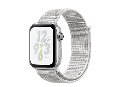 PERFECT CONDITION! Apple Watch Nike+ Series 4 Silver Aluminum 40MM GPS