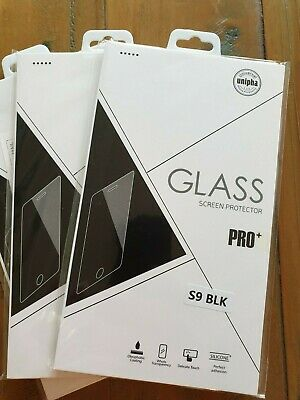 Samsung Galaxy S9 5D Full Curved Tempered Glass LCD Screen Protector Black X3