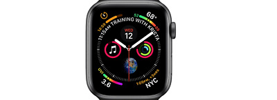 PERFECT CONDITION! Apple Watch Nike+ Series 4 Space Gray 40MM GPS/LTE (No Band)