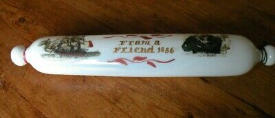 Antique Glass Rolling Pin Sailors Jem Blunt From A Friend