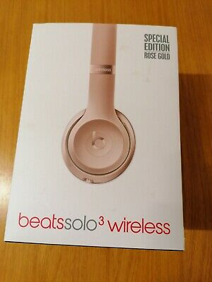Beats by Dr. Dre Solo3 Headband Headphones - Rose Gold