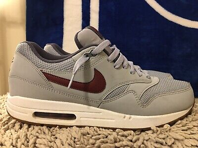 NIKE AIR MAX 1 One Essential, 537383-027, Gray/Gum, Men Running Shoes, Size  11 5