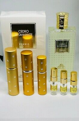 Perris Monte Carlo CEDRO DI DIAMANTE 2ml 3ml 4ml 5ml 10ml Spray samples NICHE