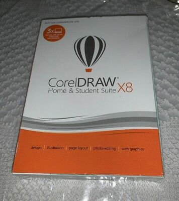 COREL CORELDRAW GRAPHICS Suite X8 - Upgrade Only - CDGSX8EFDPUG