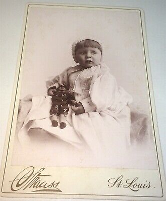 Rare Antique Victorian American Fashion Child, Homemade Toy Doll Cabinet Photo!