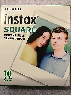 Fujifilm instax SQUARE Instant Film 10 Sheets for Fuji SQ10 SQ6 Hybrid Camera