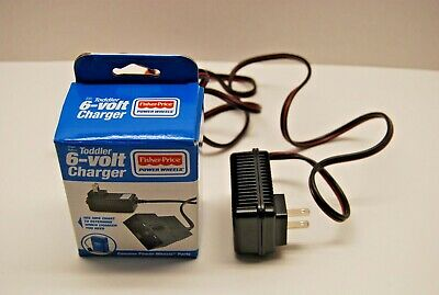 FISHER PRICE Power Wheels Toddler 6 Volt Charger Model P6829 Blue