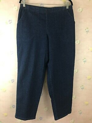 Just My Size Plus Size 16W Petite Pull On Pants Front Pockets