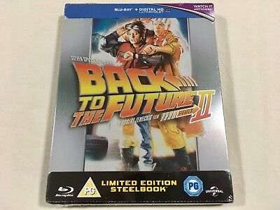 Back to the Future Part 2 (1989) - Limited Edition Steelbook Blu-Ray | New