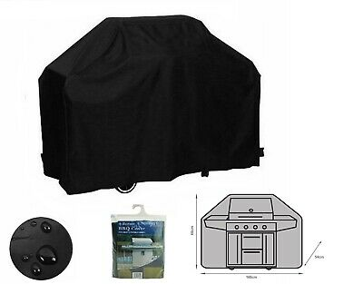 BBQ Grill Cover 4 Burner Waterproof Outdoor Gas Charcoal Barbecue Protector 1.6m