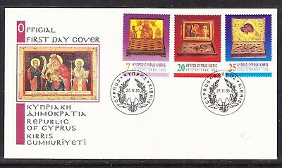 Cyprus 1995 Christmas First Day Cover