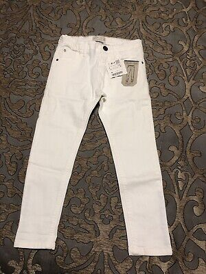 Zara Boys 5 Jeans. White Size 5, New With Tags.
