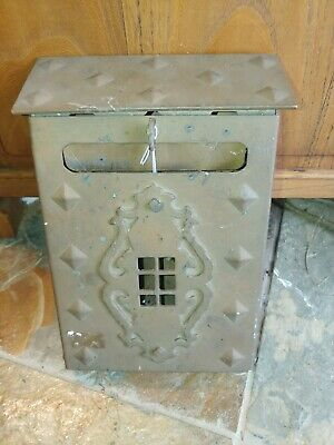 Antique Arts and Crafts/ Mission  Mailbox #2