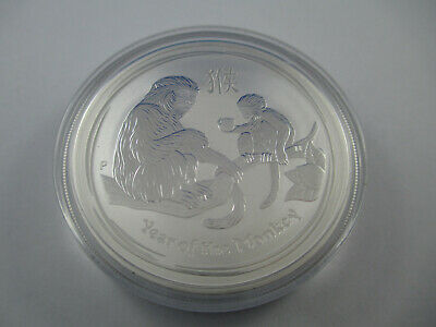 2016 AUSTRALIAN LUNAR - Year of the MONKEY 1oz SILVER COIN BU