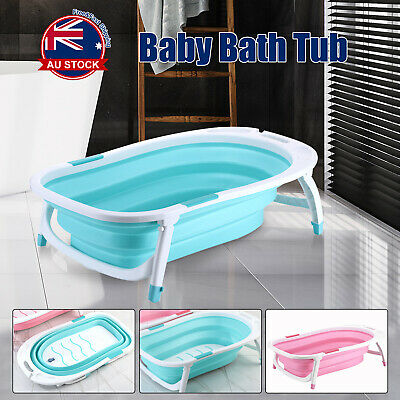 Foldable Baby Infant Newborn Bath tub Toddlers Child Portable Folding Bathtub C