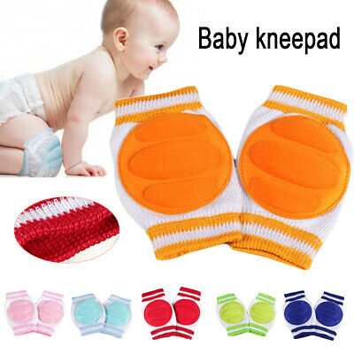 Baby Infant Toddler Crawling Cushion Knee Pads Safety Anti-slip Protector AU