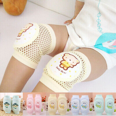 Fashion Baby Crawling Soft Knee Pads Safety Non-slip Walking Leg Elbow Protector